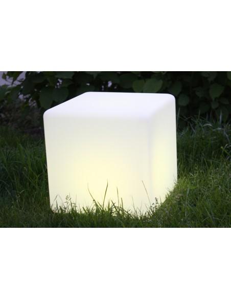 Cube lumineux multicolore