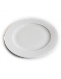 Assiette 26 cm Blanche Hélène