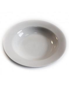 Assiette creuse Blanche Hélène