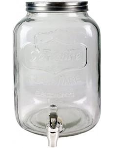 Fontaine en verre